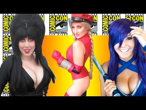 Best Cosplay Girls Of Comic-Con 2016