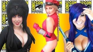 Best Cosplay Girls of Comic-Con 2016