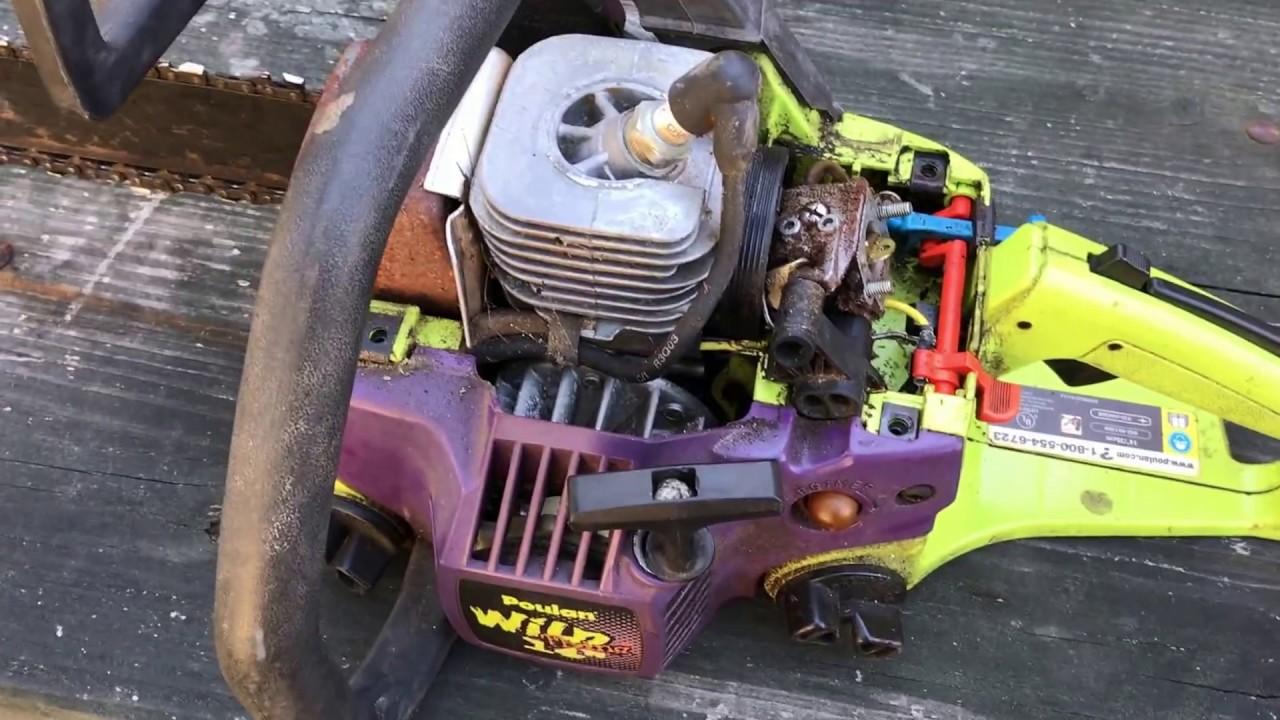 Poulan Chainsaw Carburetor Diagram