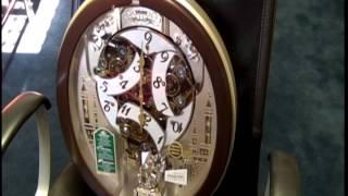 Seiko 2013 Melodies In Motion Clock With Swarovski Crystals