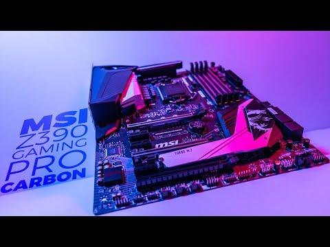 MSI MPG Z390 Gaming Pro Carbon - Motherboard Mondays ⚡