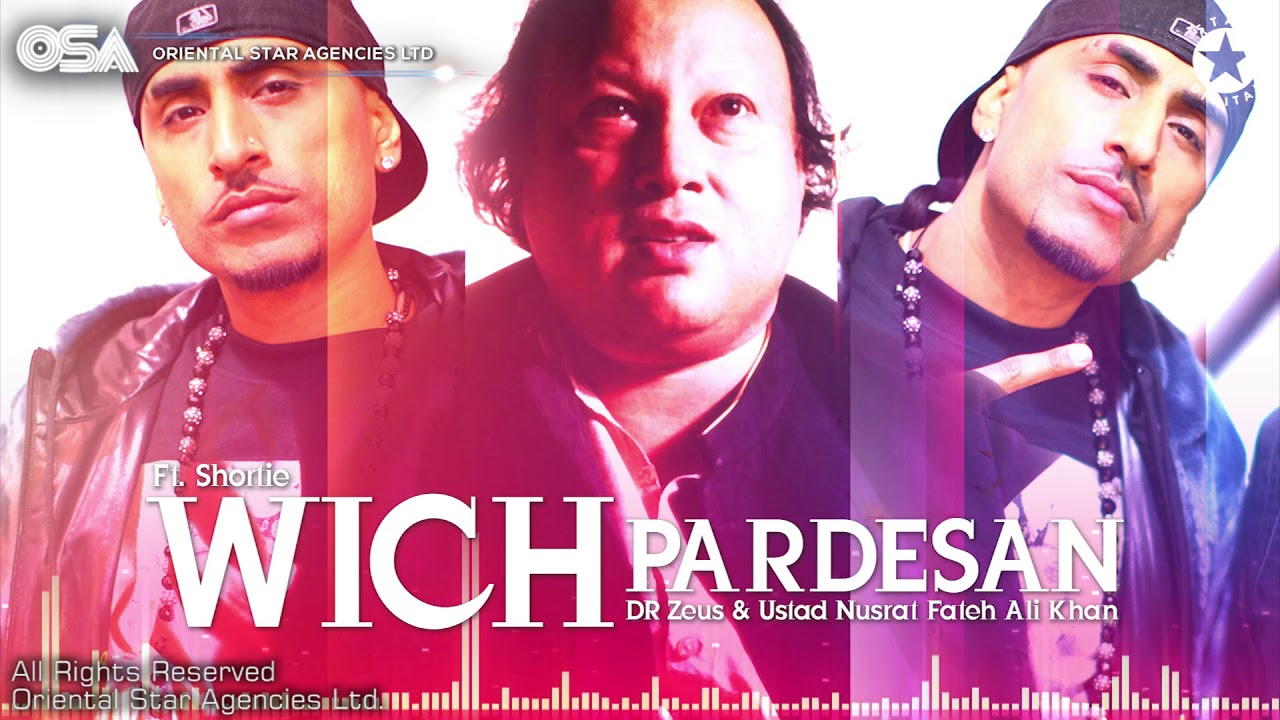 nusrat fateh ali khan vich pardesan de mp3 song