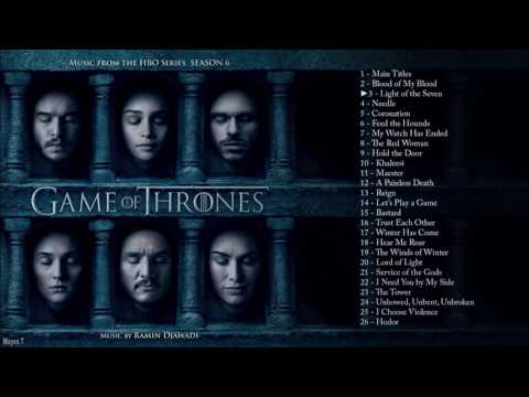 Game Of Thrones Season 6 Full Soundtrack
