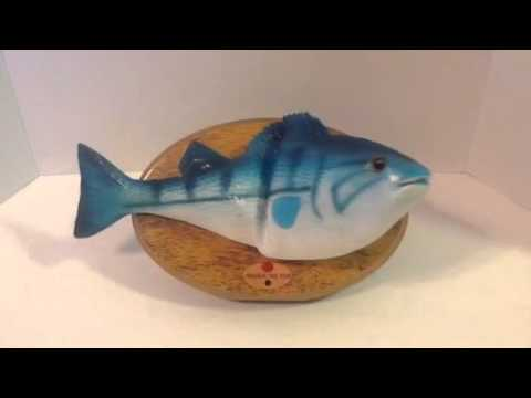 Frankie The Fish Wall Mountable Singing McDonald's Filet O Fish Toy Fast Ship