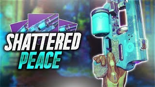 Destiny 2 - THIS THING IS FAST! | SHATTERED PEACE HAND CANNON! (Destiny 2 Live Crucible)