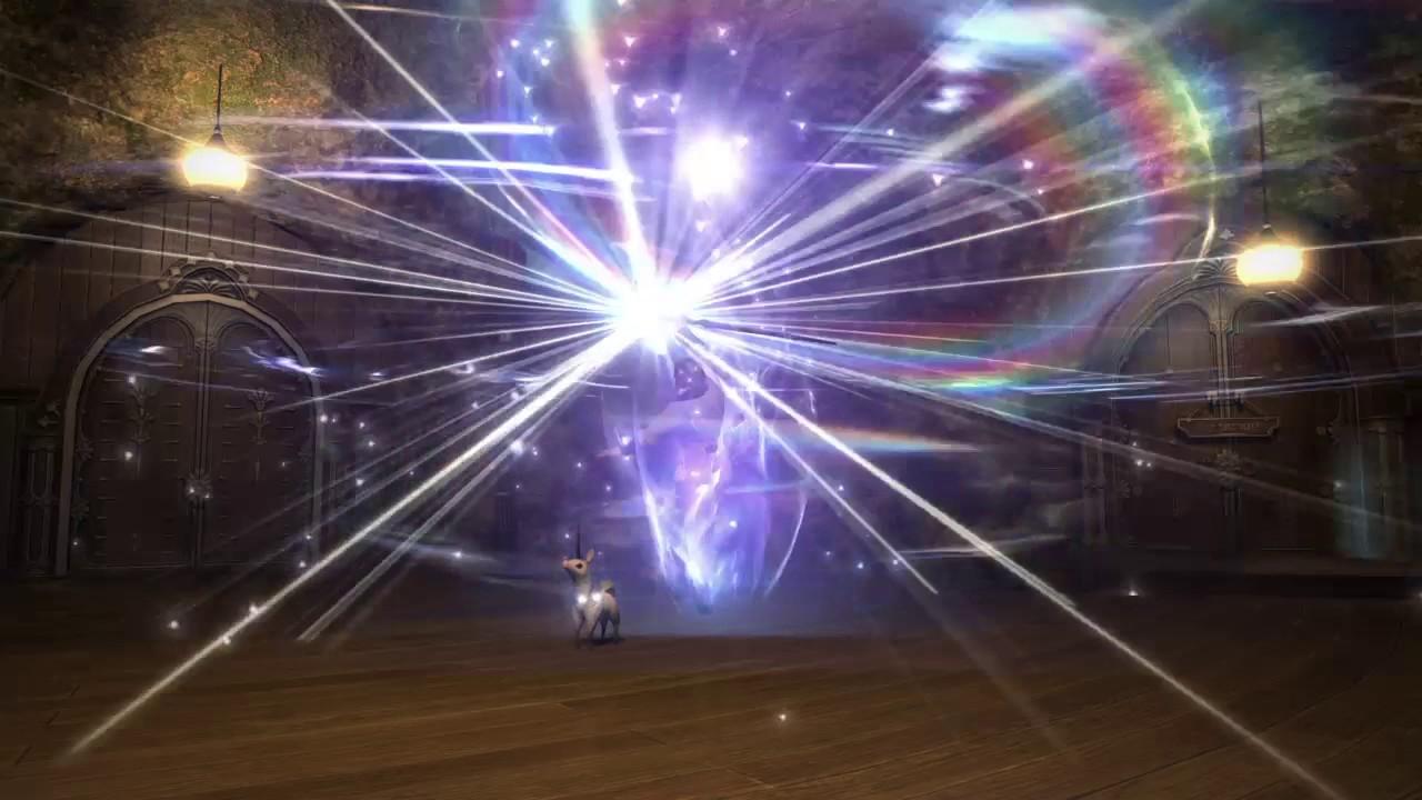 FFXIV White Mage Transformation Macro