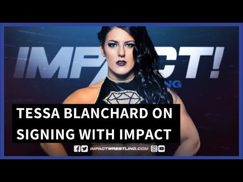 "Tessa Blanchard ""IMPACT Has Given Me the Platform and the Exposure"""
