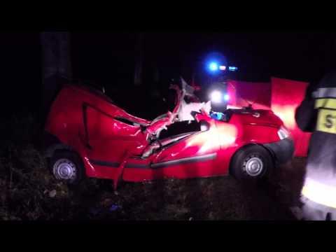 Tragiczny wypadek koło Łubowa (gm. Borne Sulinowo)