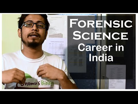 Forensic Science Career In India How To Become A Forensic Science Expert In India Youtube