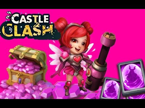 Castle Clash Gem Rolling 4,5k Gems For Heartbreaker/ Lady Boom (Josue + Giulio)