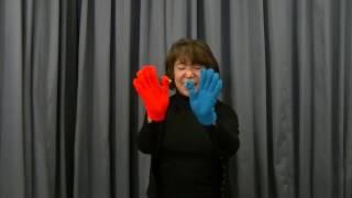 「おはなしかご」の提供する、手袋人形劇、「赤い鳥 青い鳥」実演動画で...