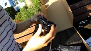 corsair 850ax 80 plus gold single rail gaming power supply unboxing first look linus tech tips