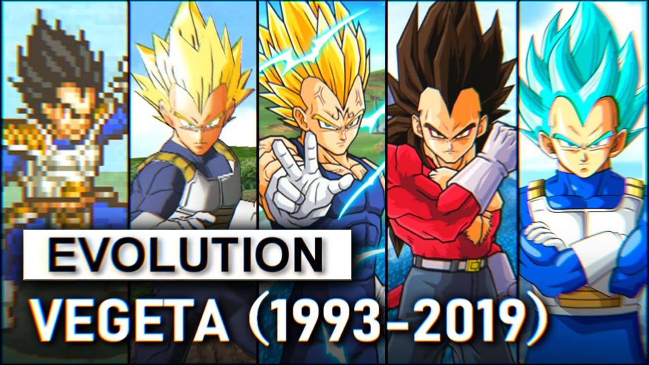 Evolution of Vegeta 1993-2019