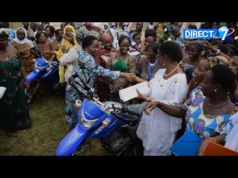 Développement à la base : 72 motos pour appuyer les efforts de la FEBESEF