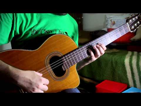 Outset Island - The Legend of Zelda Wind Waker Classical Guitar Cover