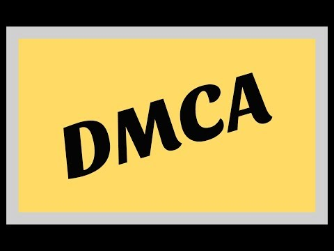DMCA Copyright Law - Essentials you need to know! Mp3
