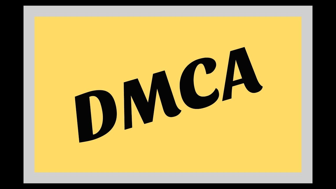 Dmca Copyright Law Essentials You Need To Know Youtube