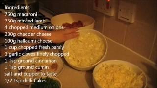 Baked Macaroni And Cheese - Pasta - Pastitsio - Makarna Firinda