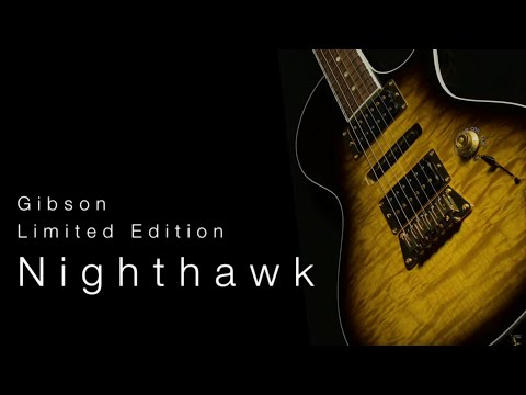 Gibson Limited Edition Nighthawk  •  Wildwood Guitars Overview