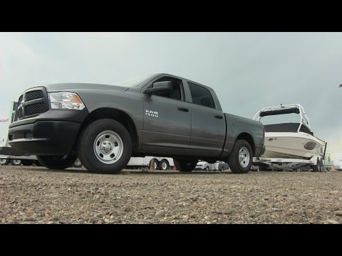 2015 Ram 1500 Towing Capacity >> 2013 Ram 1500 V6 Pentastar 0 60 Mph Towing Test