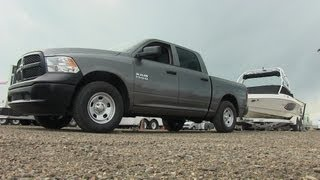 2013 Ram 1500 V6 Pentastar 0-60 MPH Towing Test