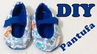 Como Fazer Pantufa Infantil sem Costura