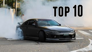 TOP 10 Modified cars leaving a Carshow