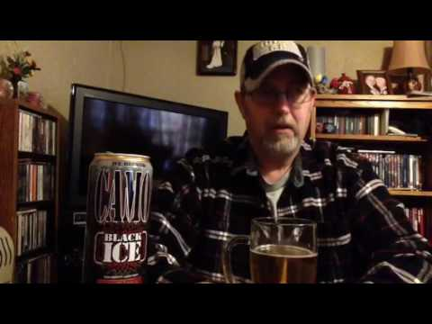 The Beer Review Guy #274 CAMO Black Ice High Gravity Lager Beer 10.5% abv