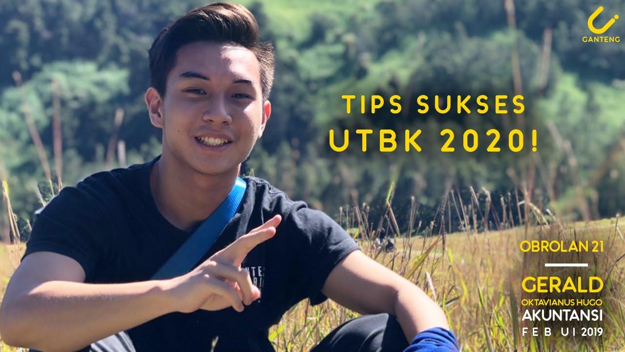 Tips Sukses Menghadapi UTBK 2020 - Gerald Hugo, Akuntansi FEB UI 2019