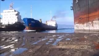 Top 10 crash bateaux