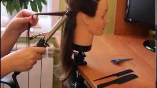 Урок   Как завивать на плойку   Авторские причёски   Лена Роговая   Hairstyles by REM   Copyright ©