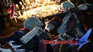 Devil May Cry 4 Gameplay ITA #1 Duello fra arroganti - Dante VS Nero