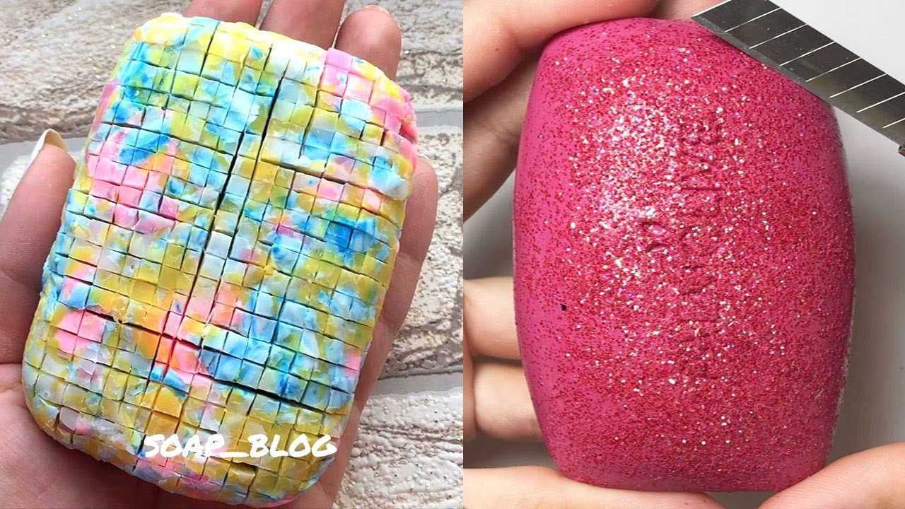 Soap Carving ASMR | Satisfying Video #540