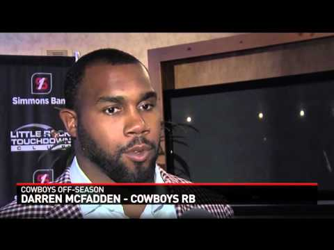 Interview with Cowboys RB Darren McFadden