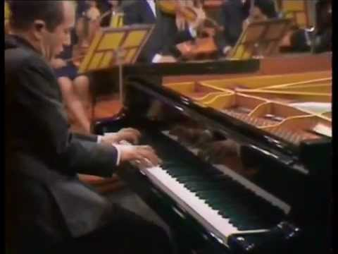Alexis Weissenberg  Rach 3rd  Live  Late 1960s  French TV