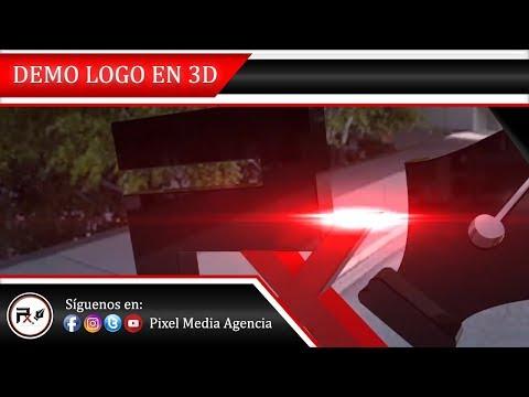 LOGO ELEMENT 3D 🎥 PIXEL MEDIA AGENCIA ✒