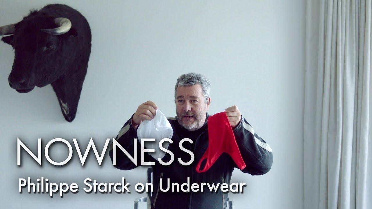 Designer Philippe Starck on Underwear