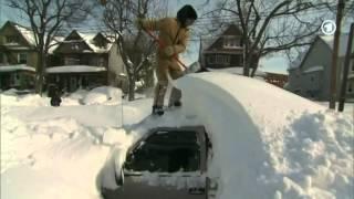 Gestern war der kälteste novembertag in den usa seit fast 40 jahren, sagt die statistik. und dazu massen an schnee. mancherorts wurde notstand ausgerufen...