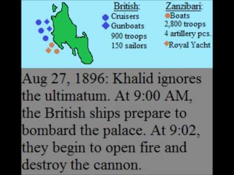 The Shortest War in History: The Anglo-Zanzibar War
