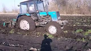 МТЗ 892 и грязь