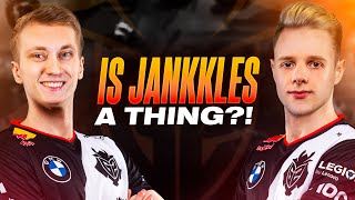 Is Jankkles a thing?! | Jankos x Rekkles Stream Highlights