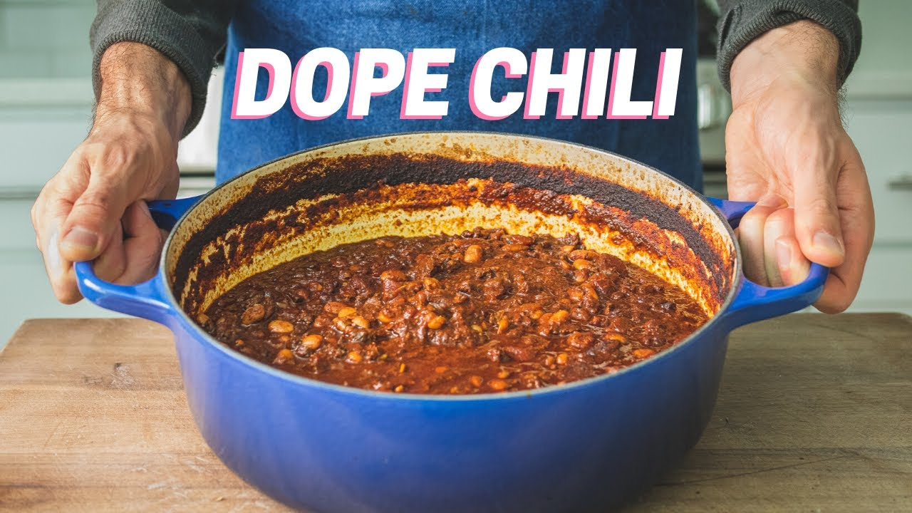 Download HOMEMADE CHILI RECIPE for Making a Mean Grown-Up Chili