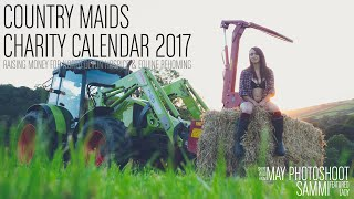 Country Maids Calendar - May