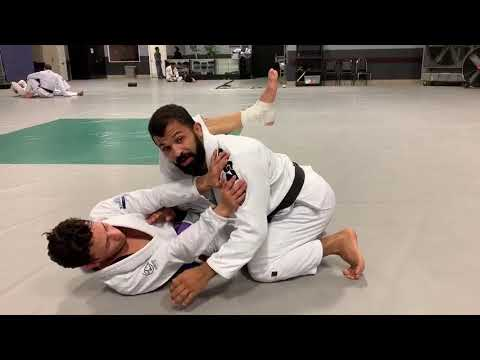 Pressure & Stack Pass Option From Half Guard  | White Belt Wednesday - February 13, 2019