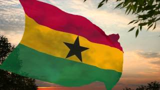 National Anthem of Ghana ✪ L