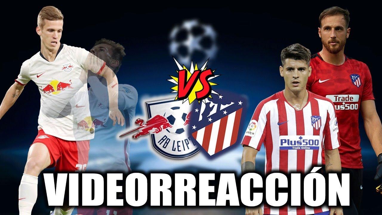 RB LEIPZIP 2-1 ATLÉTICO DE MADRID (Reacción en directo)