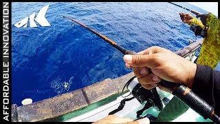 Will it Survive? Bass Fishing Tackle for OFFSHORE Snapper | KastKing Speed Demon Pro