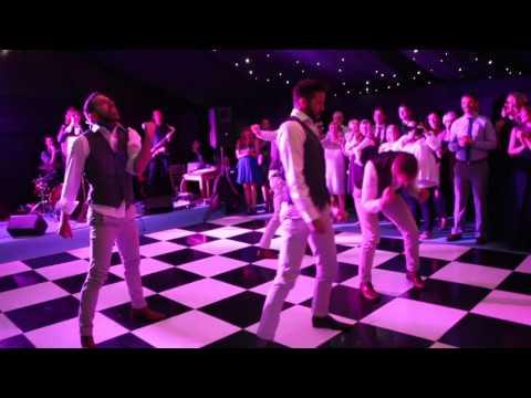 Surprise Groomsmen Dance - Lipchen Wedding 2017 - The Manzies In Love