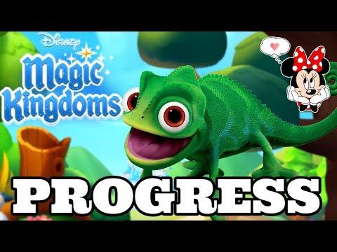PASCAL PROGRESS + LAST MINUTE TOWER CHALLENGE PREP! Disney Magic Kingdoms | Gameplay Ep.505