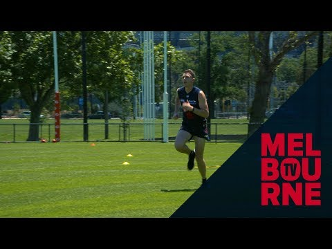 Inside Melbourne: Jake Lever training